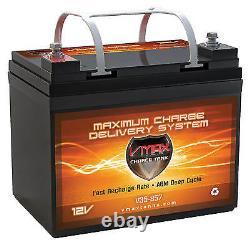Mobilité Electrique Comp Mb857-35 12v Agm Vmax Scooter Et Batterie En Fauteuil Roulant