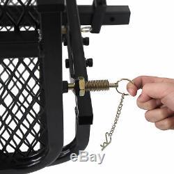 Mobilité Noir Porte-fauteuil Roulant Électrique Scooter Rack Hitch Médical Rampe Nouveau
