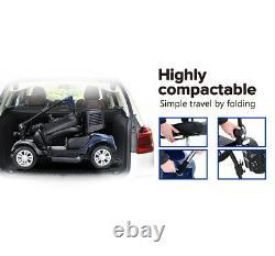 Mobilité Scooter Pliage Dispositif Électrique Puissance 4wheel Compact Scooter Wheelchair