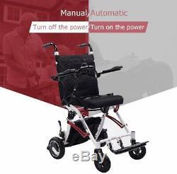 Nouveau Électrique Pliable Fauteuil Roulant Léger Aide Scooter With250w Brushless