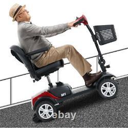 Nouveau Fauteuil Roulant Mobile Portable Mobile De Scooter À Mobilité Électrique À 4 Roues
