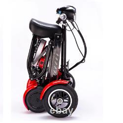 Nouveau Pliable Parfait 4 Roues Mobilité Scooter Électrique Chaise De Roue Léger