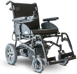 Nouveaux Ewheels Ew-m47 Medical Heavy-duty Folding Power Lightweight Wheelchair Black