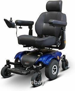 Nouveaux Ewheels Ew-m48 Medical Travel Mobility Power Electric Wheelchair Blue