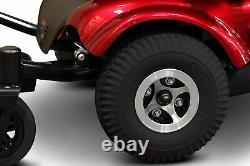 Nouveaux Ewheels Ew-m48 Medical Travel Mobility Power Electric Wheelchair Red