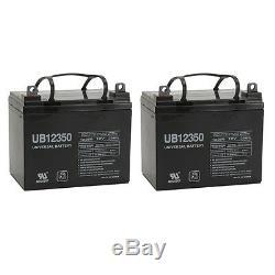 Pack 2 12 Upg Volt 35 Amp Hour Batterie Fauteuil Roulant Électrique Scooter U1