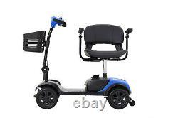Pliable Drive Travel Electric 4 Roues Mobilité Scooter Chaise Roue Léger