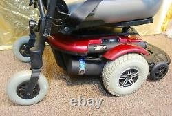 Pride Jazzy Jet 3 Ultra Electric Power Scooter Fauteuil Roulant Avec De Nouvelles Batteries