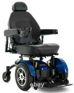 Pride Mobilité Jazzy Elite 14 Chaise Électrique Fauteuil Roulant 14 Roues Motrices