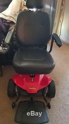 Pride Mobility Jazzy Es Fauteuil Roulant Électrique Scooter Fauteuil Motorisé. Les Nouvelles Batteries
