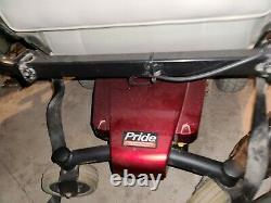 Pride Mobility Jazzy Select Gt Électrique Fauteuil Roulant Électrique Rouge