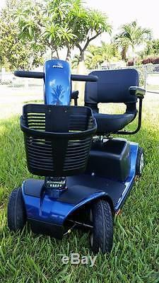 Pride Mobility Victory Sport 4 Roues Scooter Mobilité Plus Accessoires Gratuit