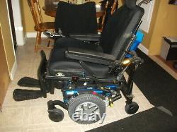 Quantum Edge 6 Hd Bariatric Power Chair 22 Seat Mobility Scooter Wheel Chair