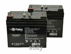 Raion 12v 35ah Electric Mobility Rascal 600f Scooter Batterie 2pqt