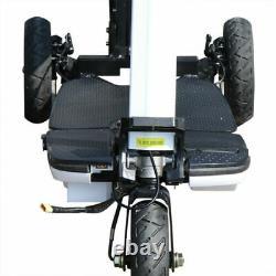 Scooter À Mobilité Électrique Foldable & Léger Motorized Mobile Wheelchair Devic