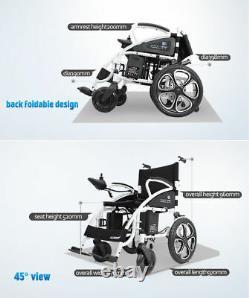 Scooter Automatisé Mobile Mobile De Mobilité De Puissance Légère De Pliage De Fauteuil Roulant