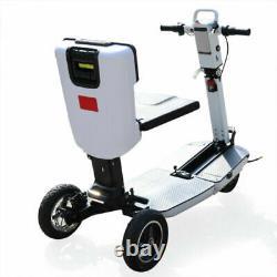 Scooter De Mobilité Électrique Pliable 48v Léger En Fauteuil Roulant Motorisé 3 Roues
