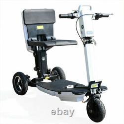 Scooter De Mobilité Électrique Pliable 48v Long Life Motorized Fauteuil Roulant Bike 3 Whe