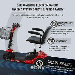 Scooter Électrique De Mobilité D'occasion En Fauteuil Roulant Égal Pour Les Personnes Âgées Adultes / Blessure