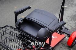 Smart Mini Double Large Poids Léger Pliant Fauteuil Roulant Électrik Scooter