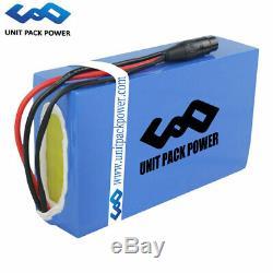U. P. P 60v 20ah Lithium Ion Batterie Électrique Fauteuil Roulant Scooter Ebike Accu